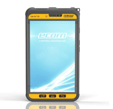 Intrinsically Safe Tablet Ecom Tab-Ex 02 ATEX Zone 2