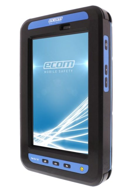 Intrinsically Safe Tablet Ecom Tab-Ex 02 Zone 1 and 21 Div 1