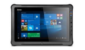 Intrinsically Safe Tablet Getac F110 Front