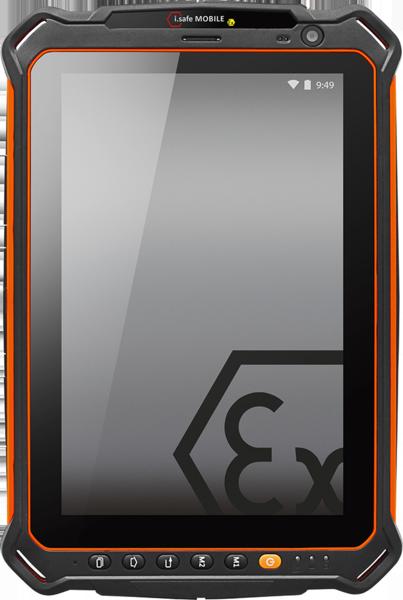 Intrinsically Safe Tablet i.Safe Mobile IS910.1