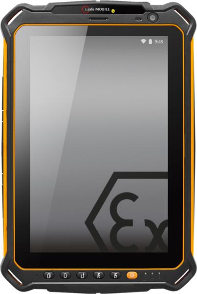 Intrinsically Safe Tablet i.Safe Mobile IS910.2 Main Image of Tablet
