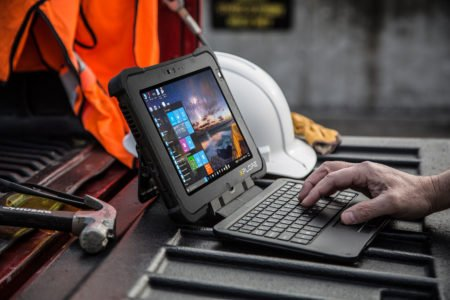 Intrinsically Safe Tablet Xplore XBOOK L10 Wide Viewing Angle