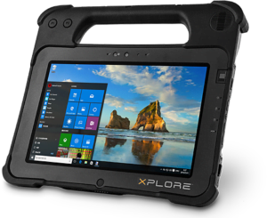 Intrinsically Safe Tablet Xplore XPAD L10 Main Image C1D1