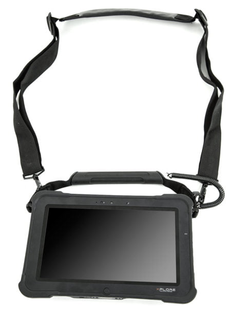 Intrinsically Safe Tablet Xplore XSlate D10 with Handstrap