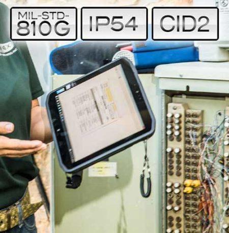 Intrinsically Safe Tablet Xplore XSlate MIL-STD-810G