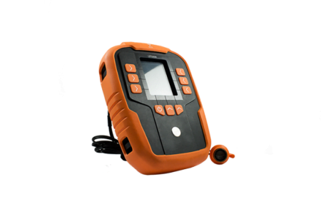 Intrinsically Safe Thickness Gauge UT5000 CorDEX Side View with Buttons
