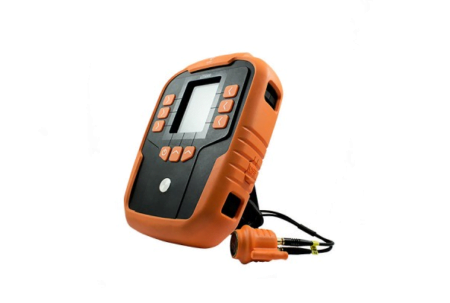 Intrinsically Safe Thickness Gauge UT5000 CorDEX Side View with Chord