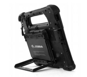 Xplore L10 Kickstand and Extended Battery Bracket Image of bracket