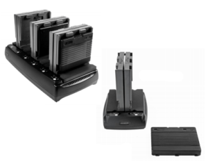 Xplore XSlate B10 and D10 Battery Charging Stands Main Image 6 bay and 2 bay