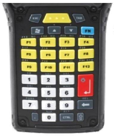 Zebra Omnii XT15 34 Key Keypad Main Image of Keypad